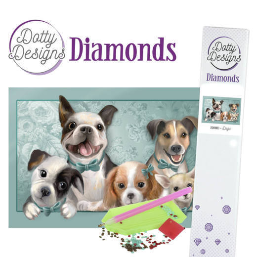 Dotty Designs Diamonds - Dogs