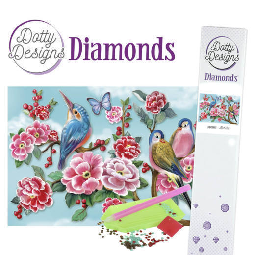Dotty Designs Diamonds - Birds