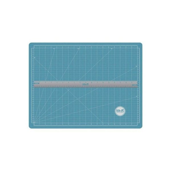 We R Memory Keepers • Scallopes Magnetic Cutting Mat & Ruler