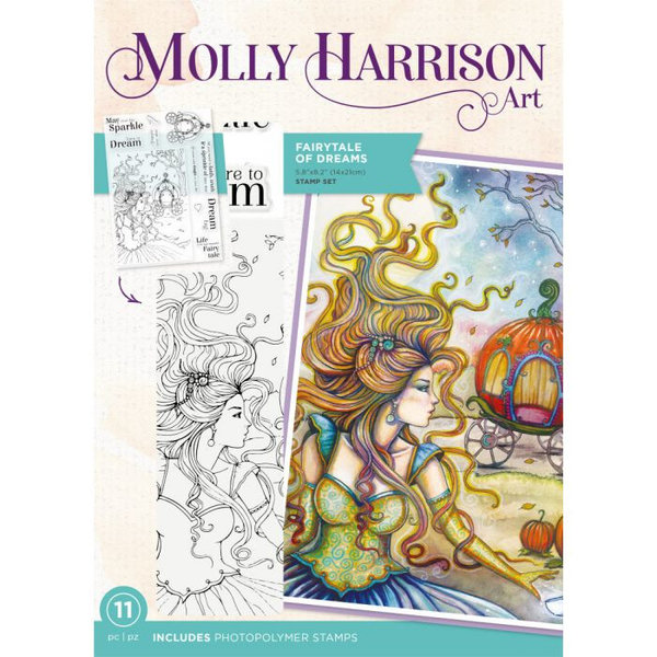 Molly Harrison Clearstamp - Fairytale of Dreams