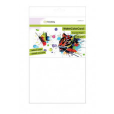 8718736041687 CraftEmotions CraftEmotions Watercolor card briljant wit 200g A4 10 vel 001286/3321 Cr