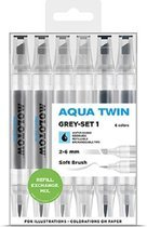 Molotow Aqua Twin Grey set-1