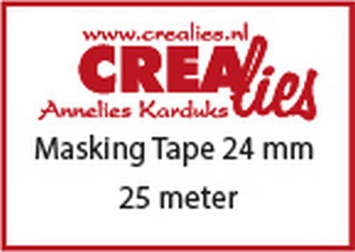 Crealies Basis Masking tape CLBSMT 24 mmx25 m