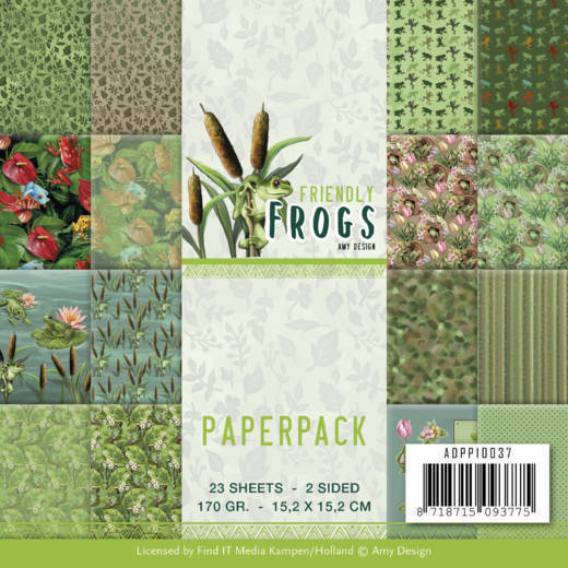 Paperpack - Amy Design - Friendly Frogs