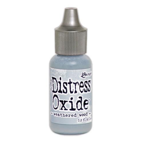 Ranger Distress Oxide Re- Inker 14 ml - Weathered Wood