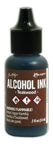 Ranger Alcohol Ink 15 ml - teakwood  Tim Holz