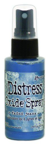 Ranger Distress Oxide Spray - Faded Jeans TSO64732 Tim Holtz