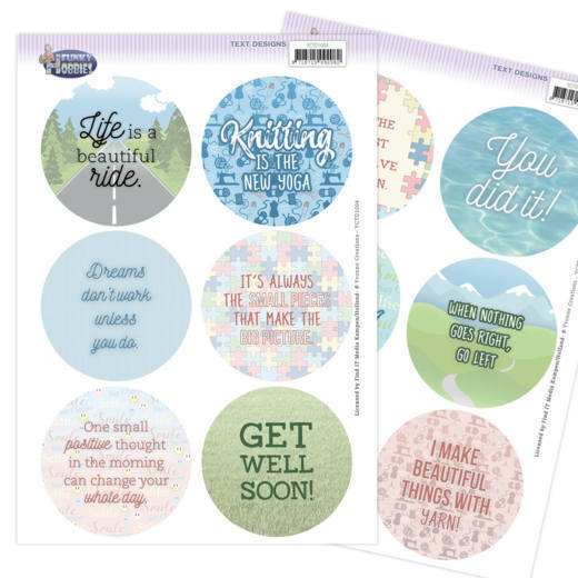 Text Designs - Yvonne Creations - Funky Hobbies (EN)