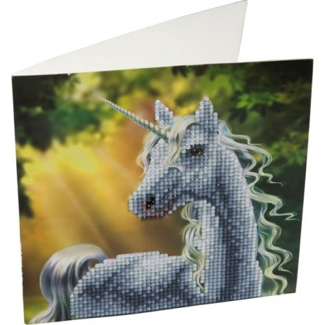 Crystal Card Kit ® Diamond Painting Sunshine Unicorn