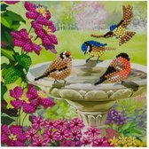 Crystal Card Kit, Birds (partial) 18 x 18 cm