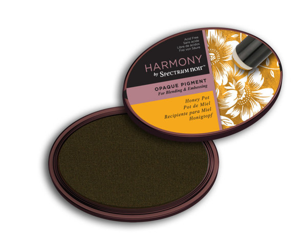 Spectrum Noir Inktkussen - Harmony Opaque Pigment - Honey Pot