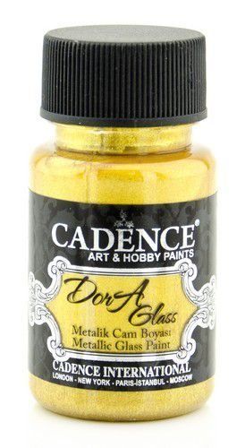 Cadence Dora Glas & Porselein verf Metallic Rich gold 01 013 3136 0050 50 ml