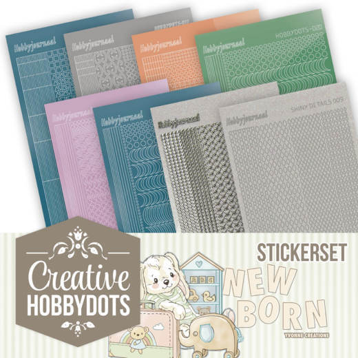 Creative Hobbydots Stickerset 11 - Yvonne Creations - Newborn