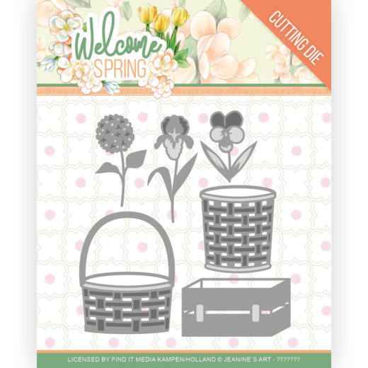Dies - Jeanine's Art Welcome Spring - Spring Basket
