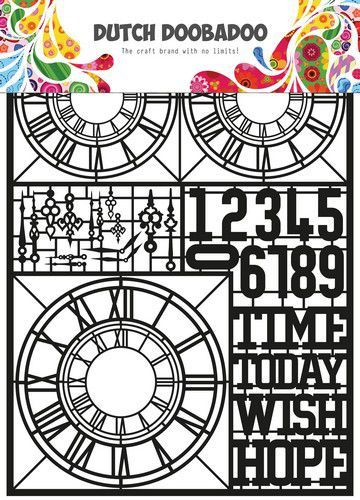 Dutch Doobadoo Dutch Paper Art Clocks A5