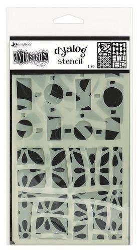 Ranger Dylusions Dyalog Stencil Set Doodle It Too DYS68754 Dyan Reaveley