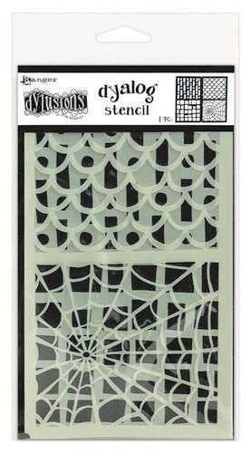 Ranger Dylusions Dyalog Stencil Set Stencil It Too DYS68778 Dyan Reaveley
