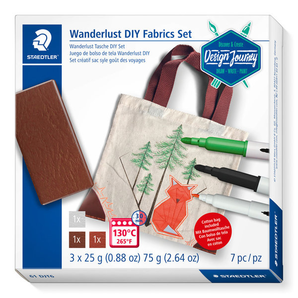 Design journey wanderlust DIY fabrics set