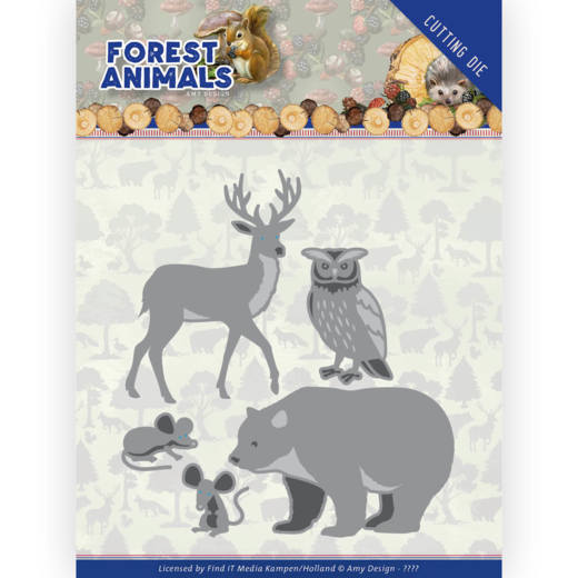Dies - Amy Design Forest Animals - Forest Animals 1