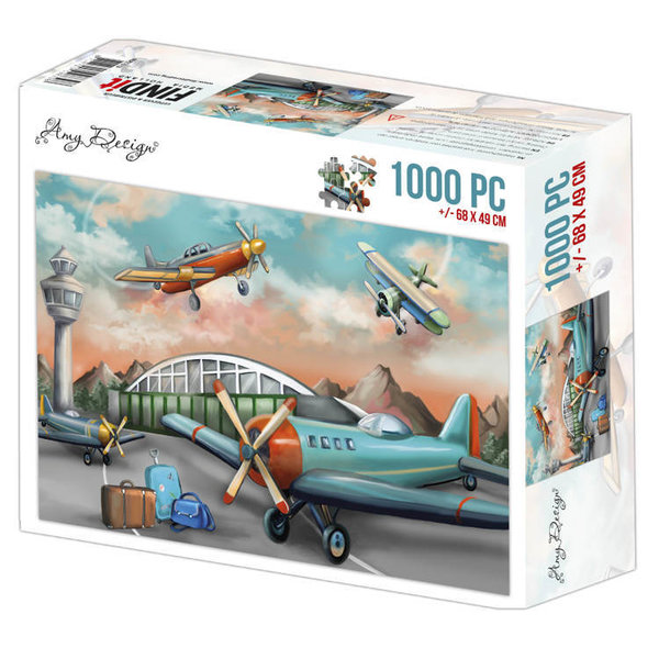 Jigsaw puzzel 1000 pc - Amy Design - Planes